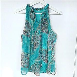 Adiva aqua blouse